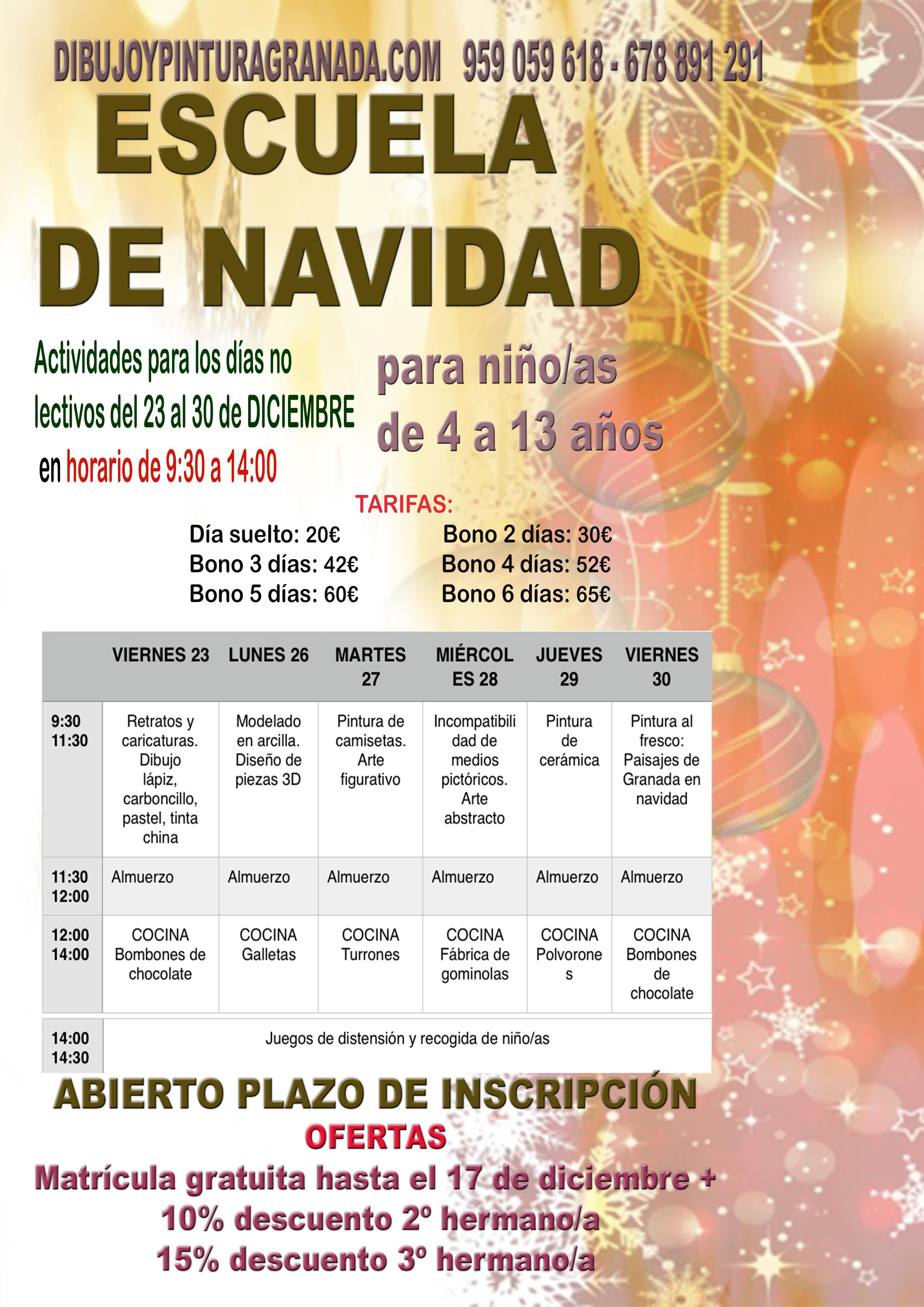cartel-a4-escuela-de-navidad