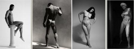 Dibujo de cuerpo humano desnudo
