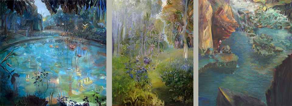 el paisaje soñado-curso pintura online veronica dominguez