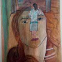 trabajo del curso pintura abstracta